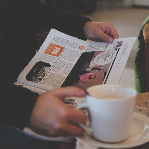 Zeg kranten en tijdschrift abonnementen op.