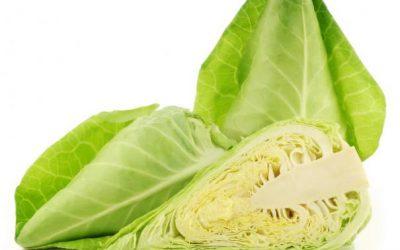 Spitskoolsalade a la voedselbank