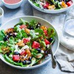 watermeloen salade - basishulp